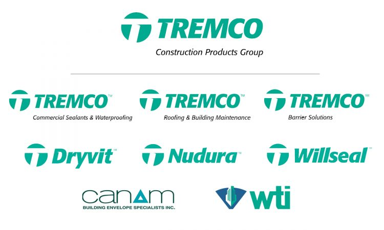 New Tremco Construction Products Group Unites Leading